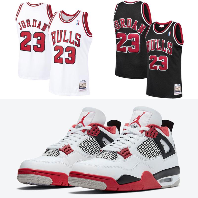 air-jordan-4-fire-red-michael-jordan-jerseys