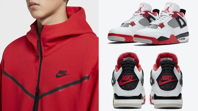 air-jordan-4-fire-red-nike-air-apparel