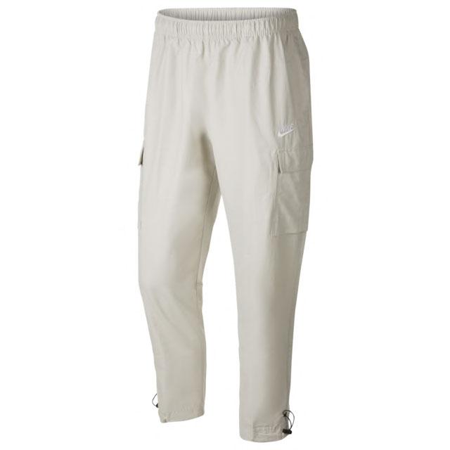air-jordan-5-off-white-sail-nike-cargo-pants-match
