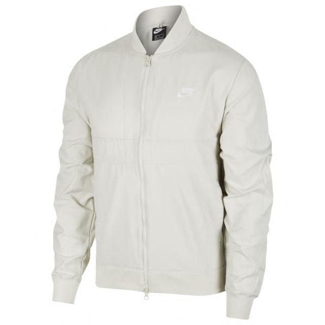 air-jordan-5-off-white-sail-nike-jacket-match