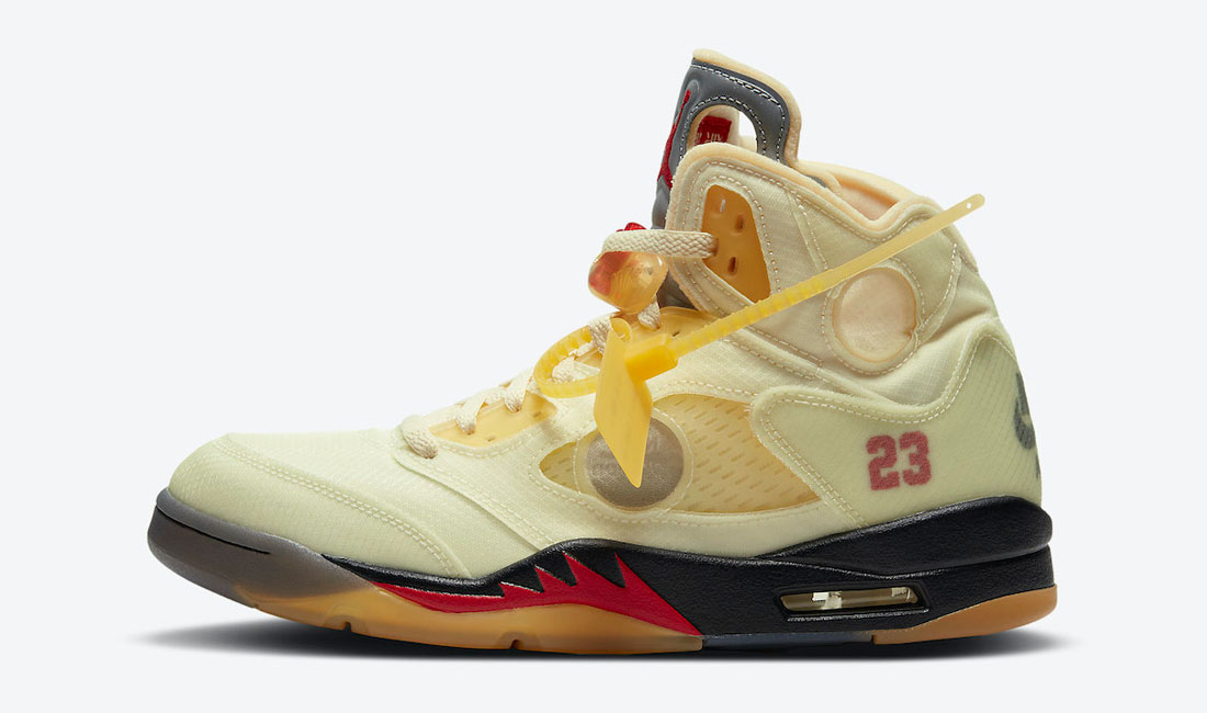 air-jordan-5-off-white-sail-sneaker-clothing-match