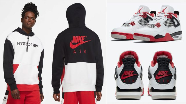 fire-red-air-jordan-4-2020-hoodie