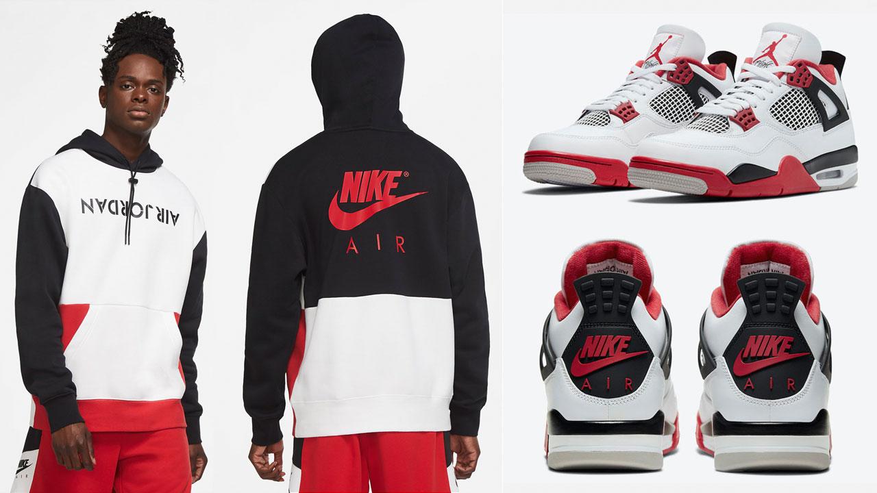fire-red-air-jordan-4-2020-hoodie