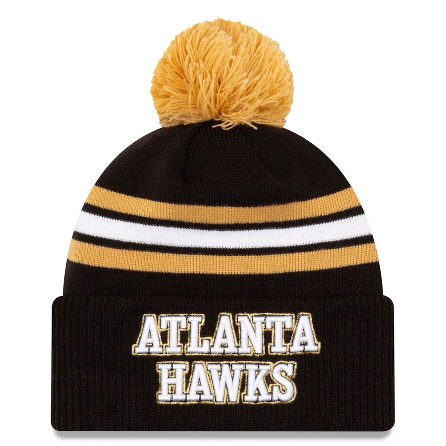 jordan-1-high-black-gold-atlanta-hawks-city-edition-new-era-knit-hat-1