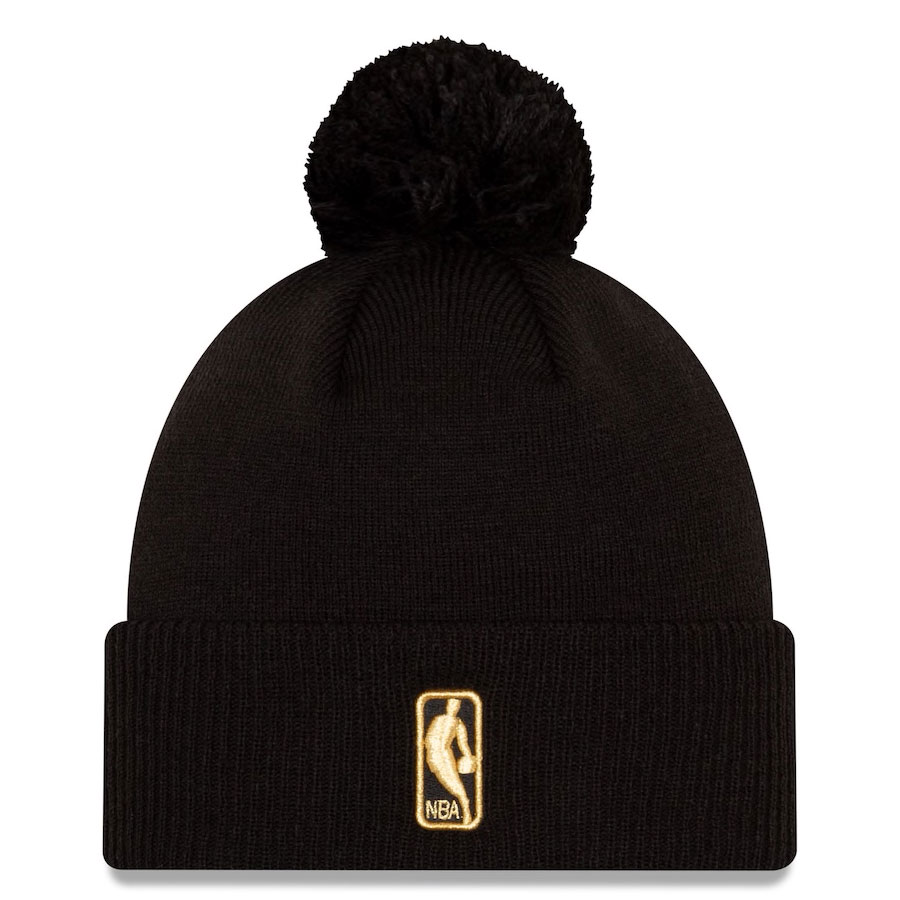 jordan-1-high-black-gold-atlanta-hawks-city-edition-new-era-knit-hat-beanie-2
