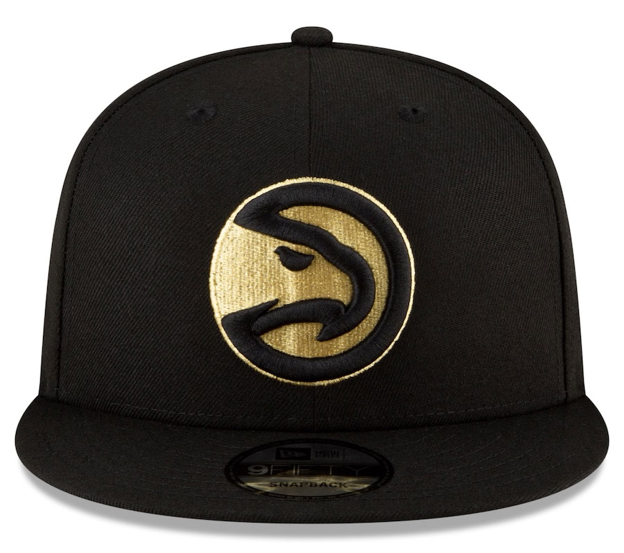 jordan-1-high-black-gold-atlanta-hawks-city-edition-new-era-snapback-hat-3