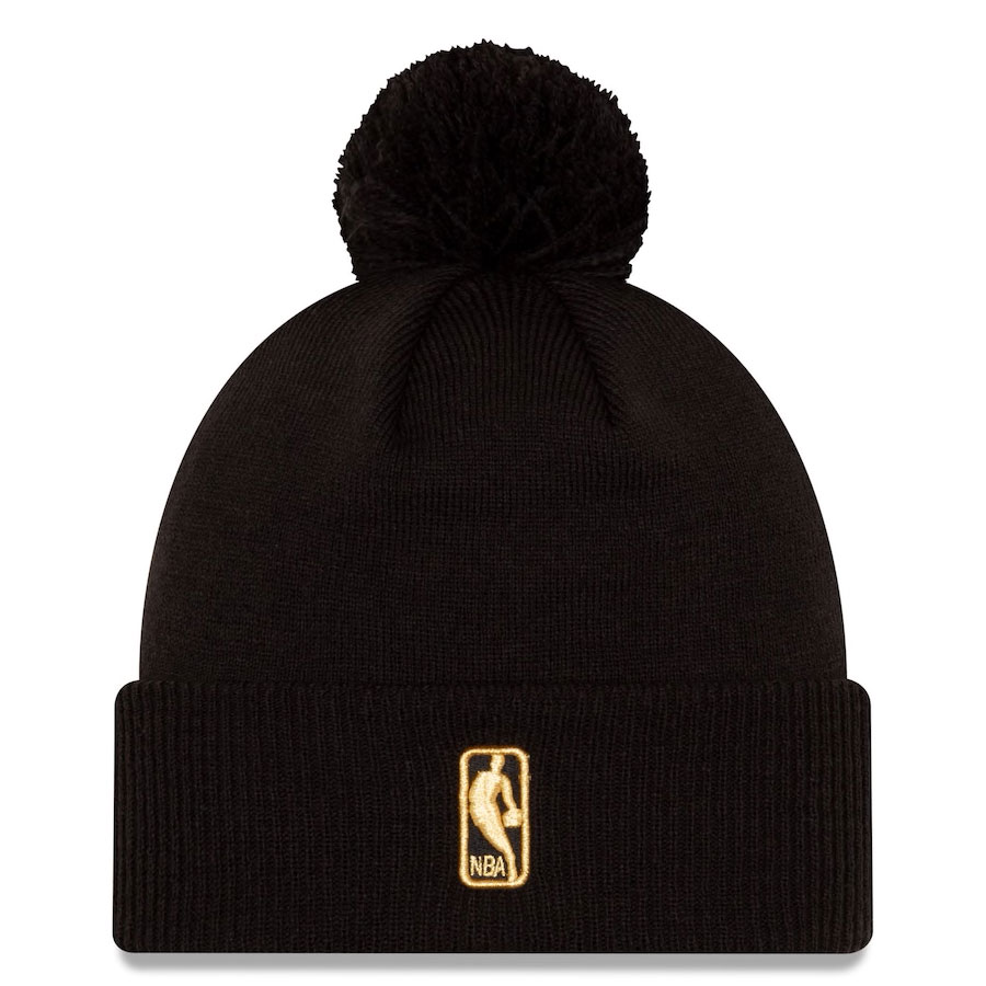 jordan-1-high-black-gold-toronto-raptors-new-era-city-edition-knit-hat-beanie-2