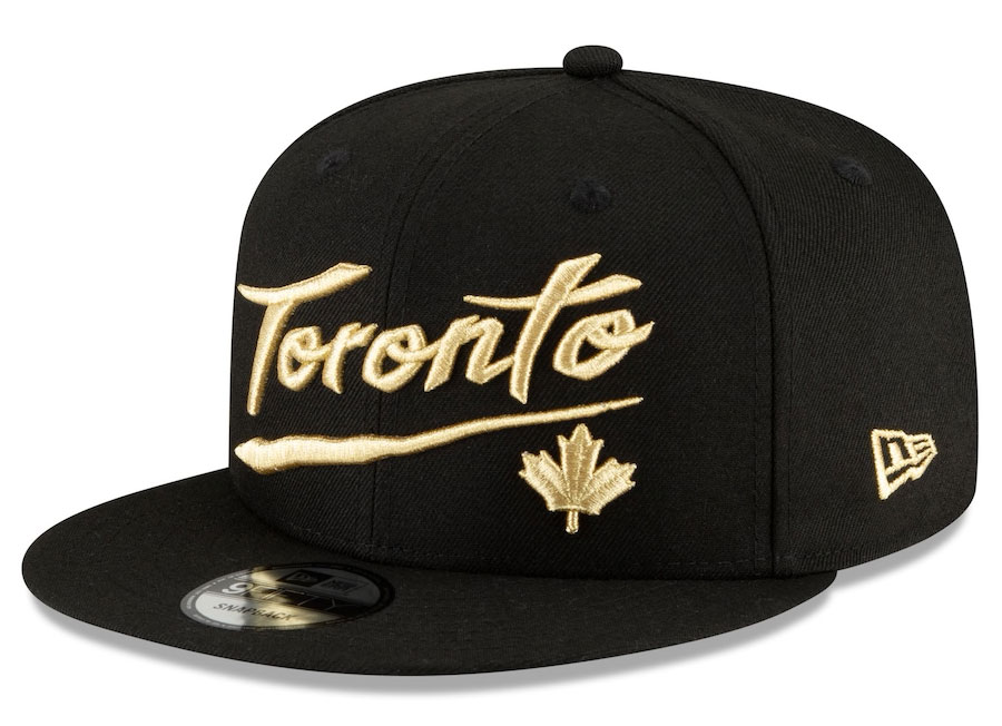 jordan-1-high-black-gold-toronto-raptors-new-era-city-edition-snapback-hat-2