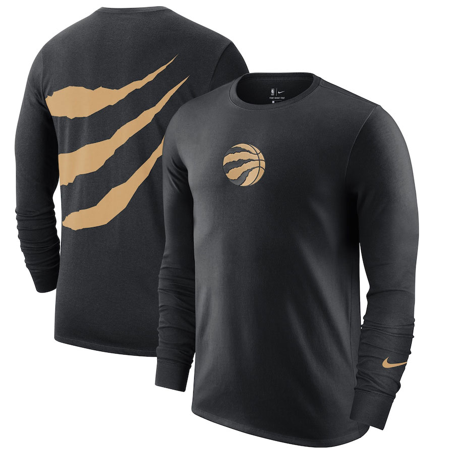 jordan-1-high-black-gold-toronto-raptors-nike-city-edition-shooting-shirt