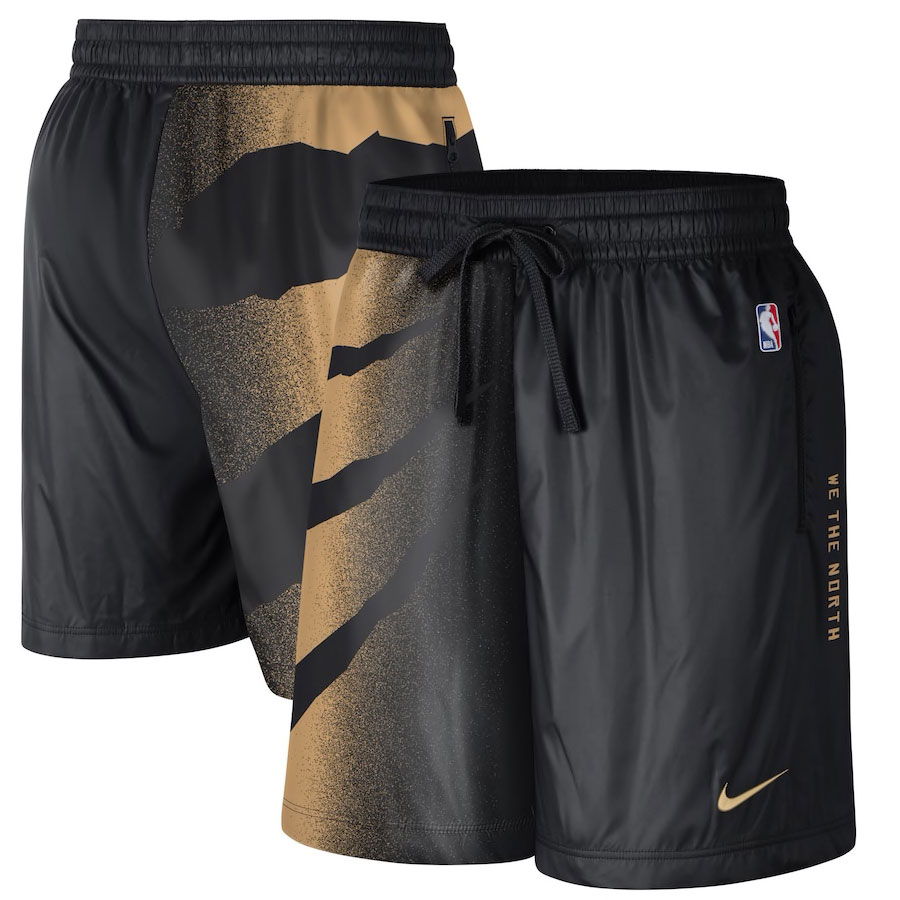 jordan-1-high-black-gold-toronto-raptors-nike-city-edition-shorts-1