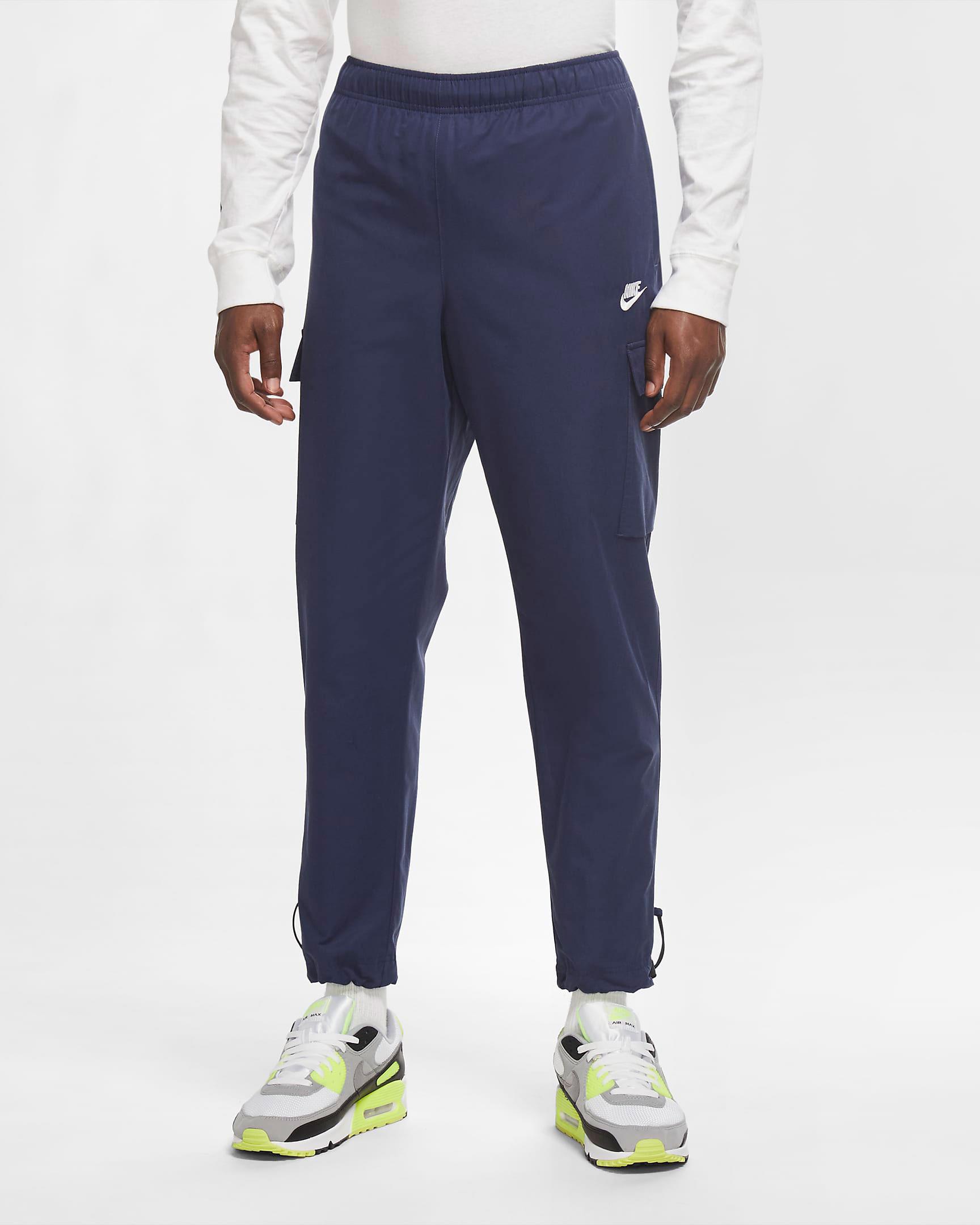 jordan-1-high-midnight-navy-nike-cargo-pants