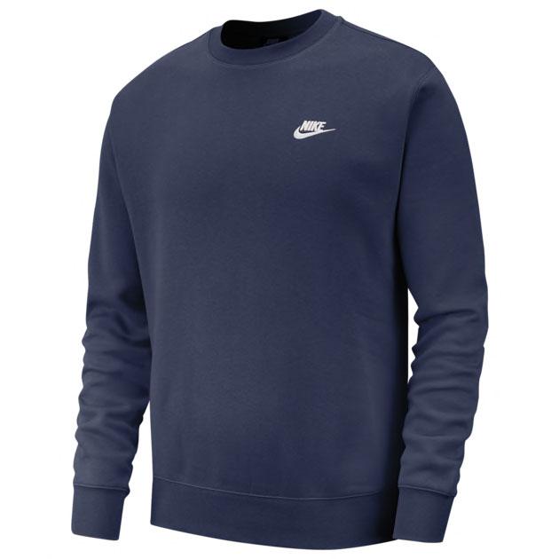jordan-1-high-midnight-navy-nike-club-sweatshirt