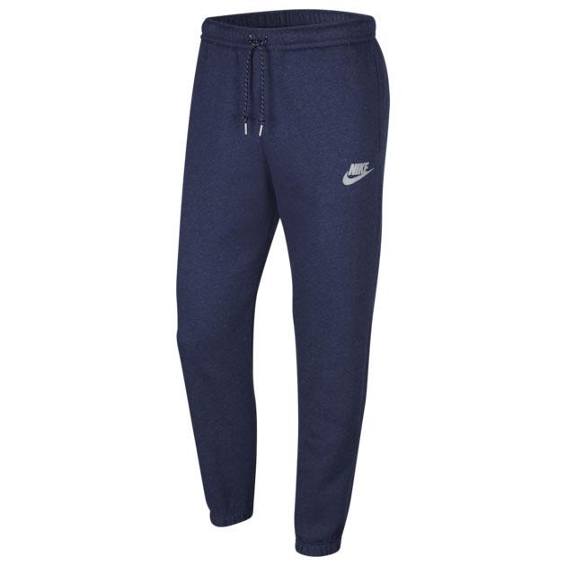 jordan-1-high-midnight-navy-silver-nike-jogger-pants
