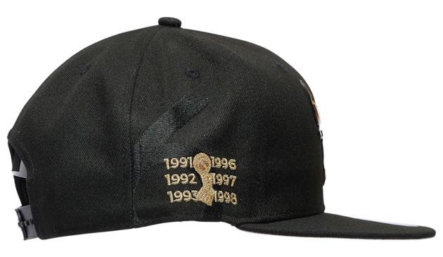 jordan-1-high-patent-black-gold-bulls-new-era-hat-4