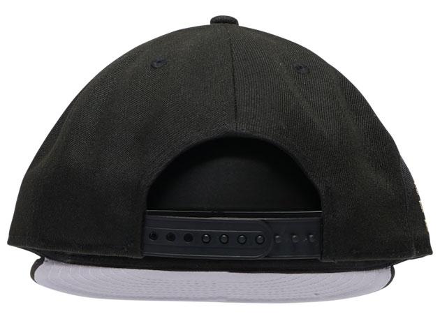 jordan-1-high-patent-black-gold-bulls-new-era-hat-6