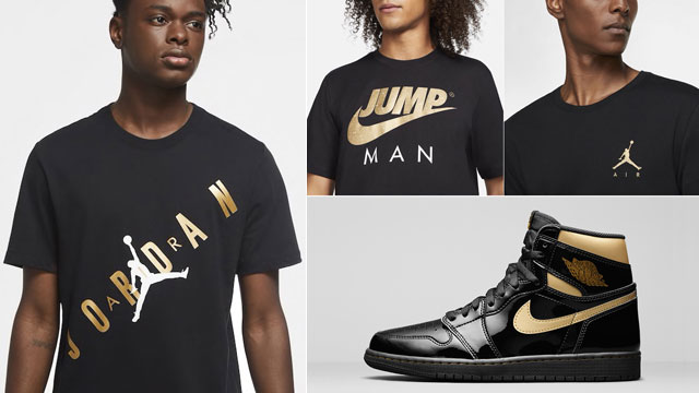 jordan-1-patent-black-gold-apparel