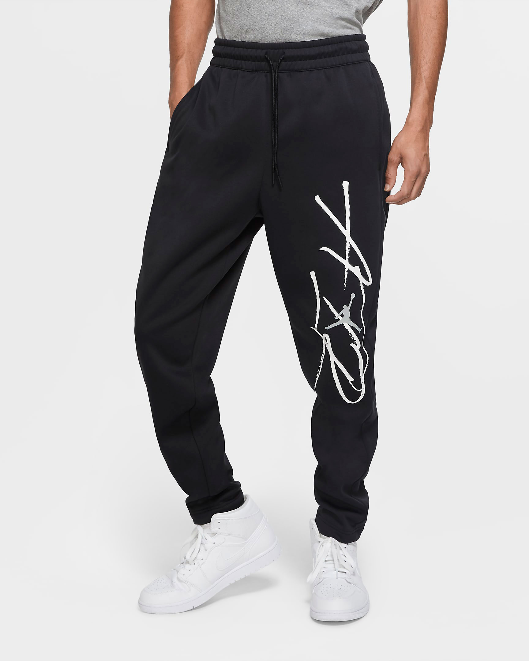 jordan-11-jubilee-black-white-pants-match
