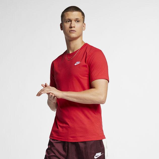 jordan-4-fire-red-nike-tee-shirt