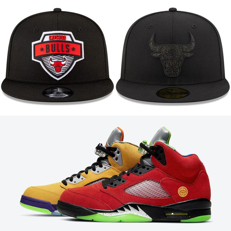 jordan-5-what-the-bulls-hats-to-match