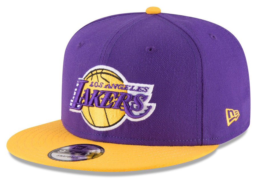 jordan-5-what-the-lakers-snapback-hat-match-2