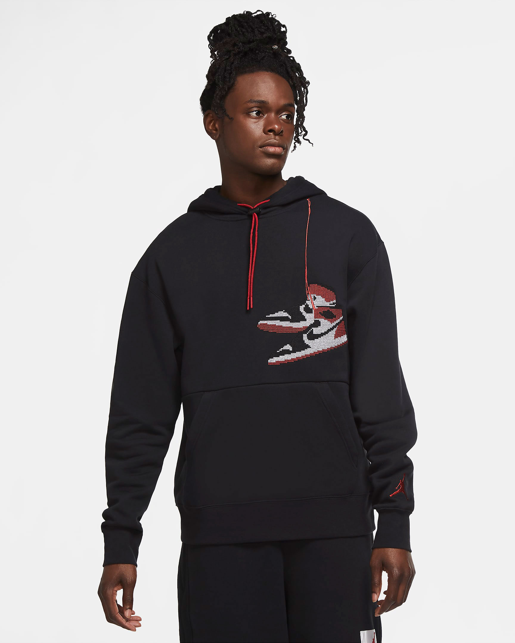 jordan-aj1-knit-stocking-holiday-hoodie-black-1