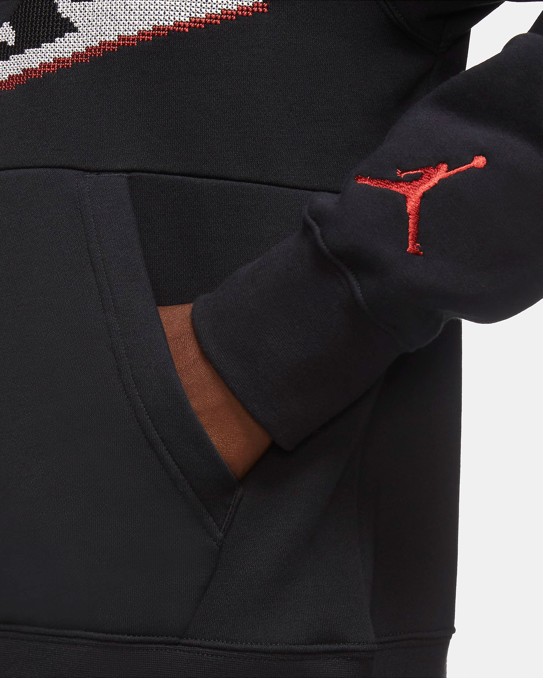 jordan-aj1-knit-stocking-holiday-hoodie-black-3