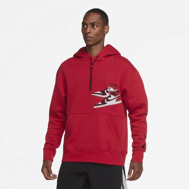 jordan-aj1-knit-stocking-holiday-hoodie-red-1