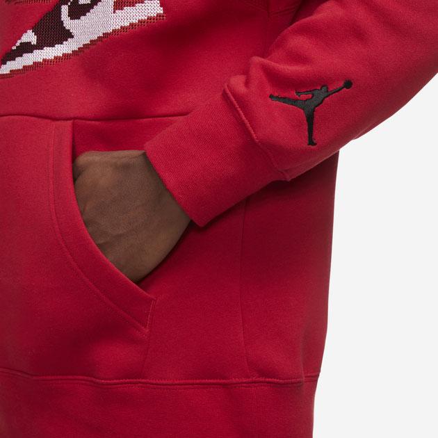 jordan-aj1-knit-stocking-holiday-hoodie-red-3