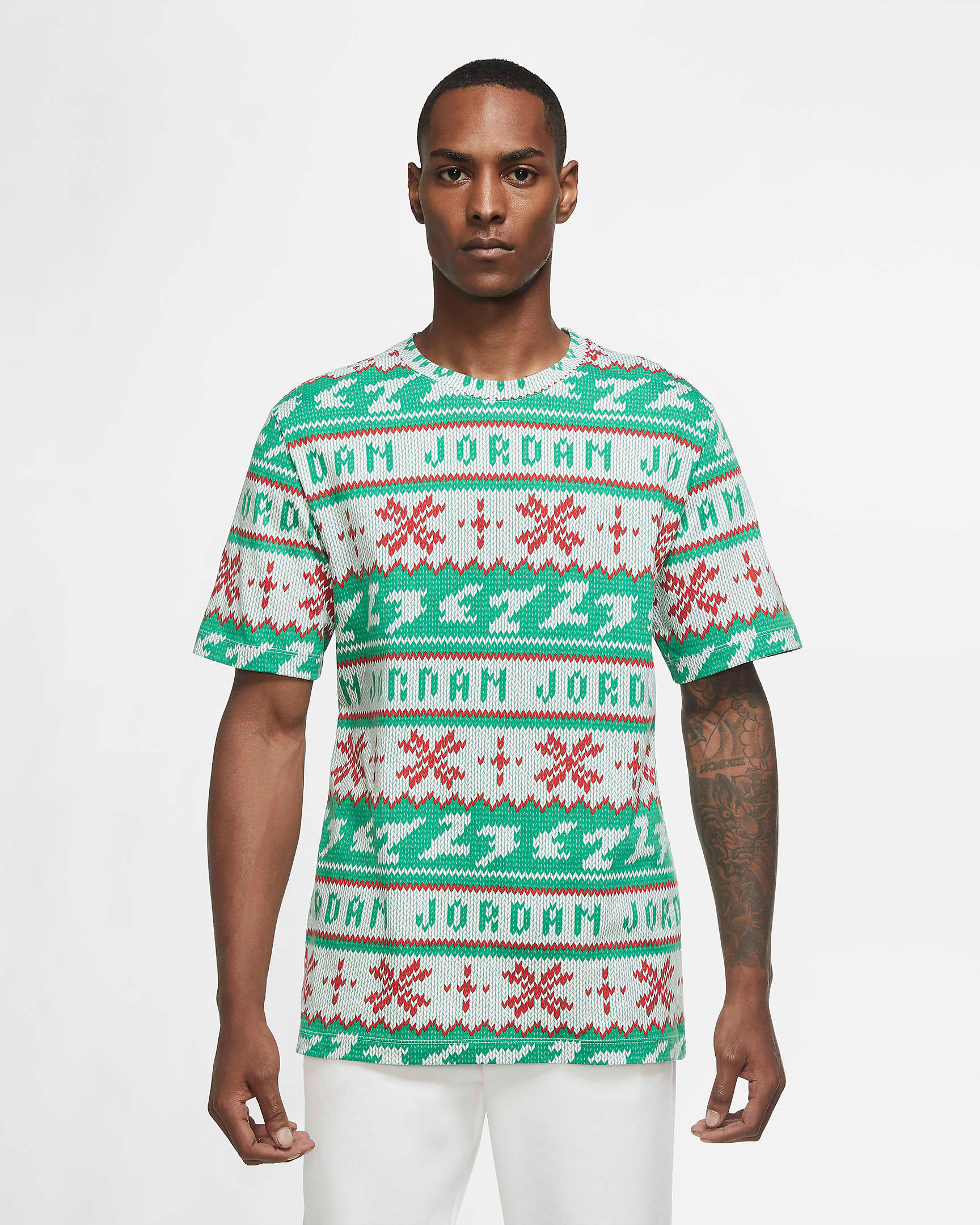 jordan-holiday-ugly-sweater-shirt-green-red-white-1