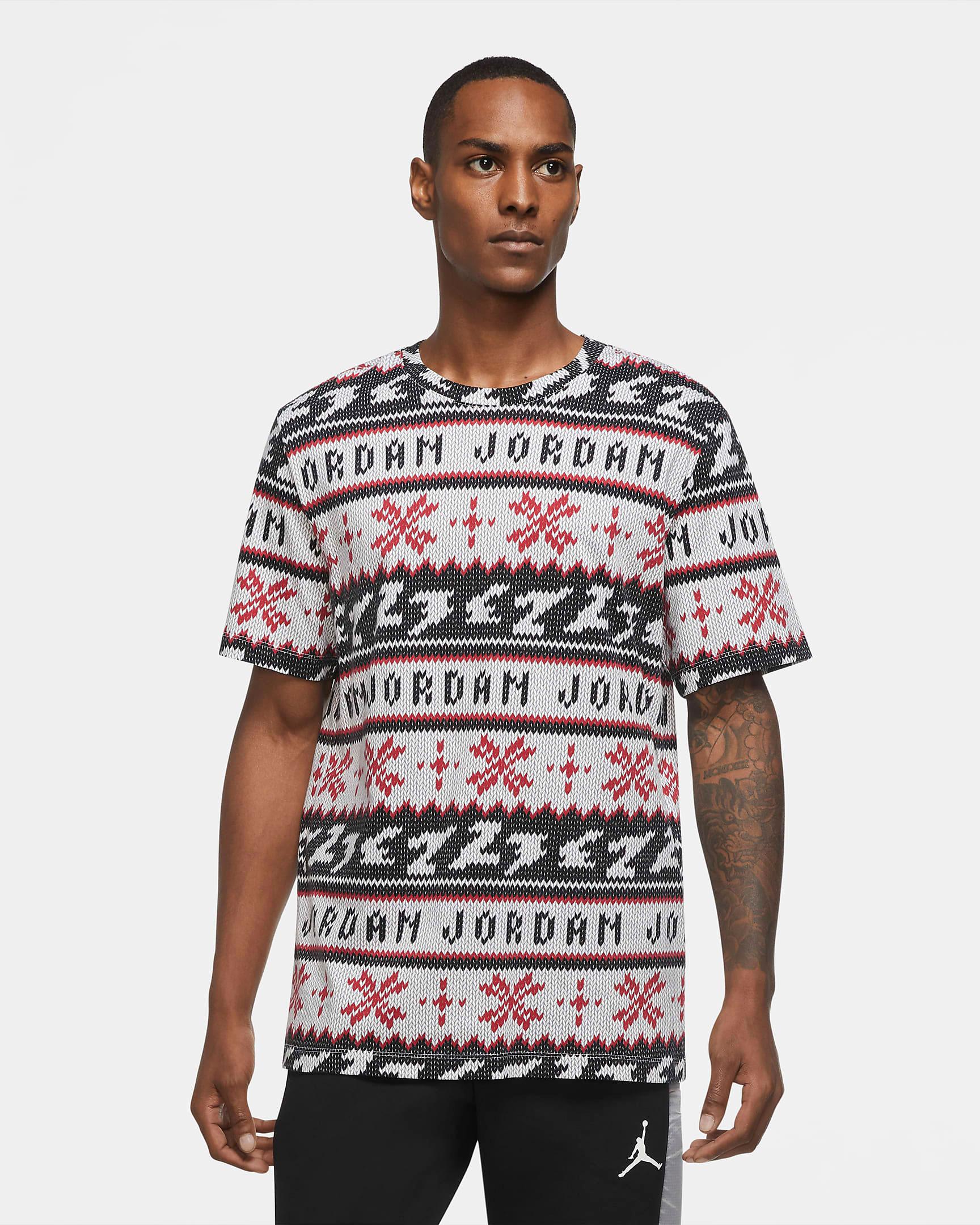 jordan-holiday-ugly-sweater-shirt-white-black-red