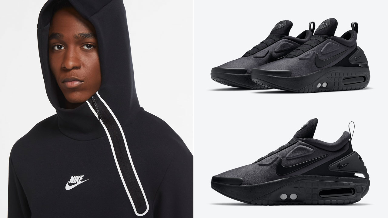 Nike Adapt Auto Max Black Clothing Outfits Sneakerfits Com