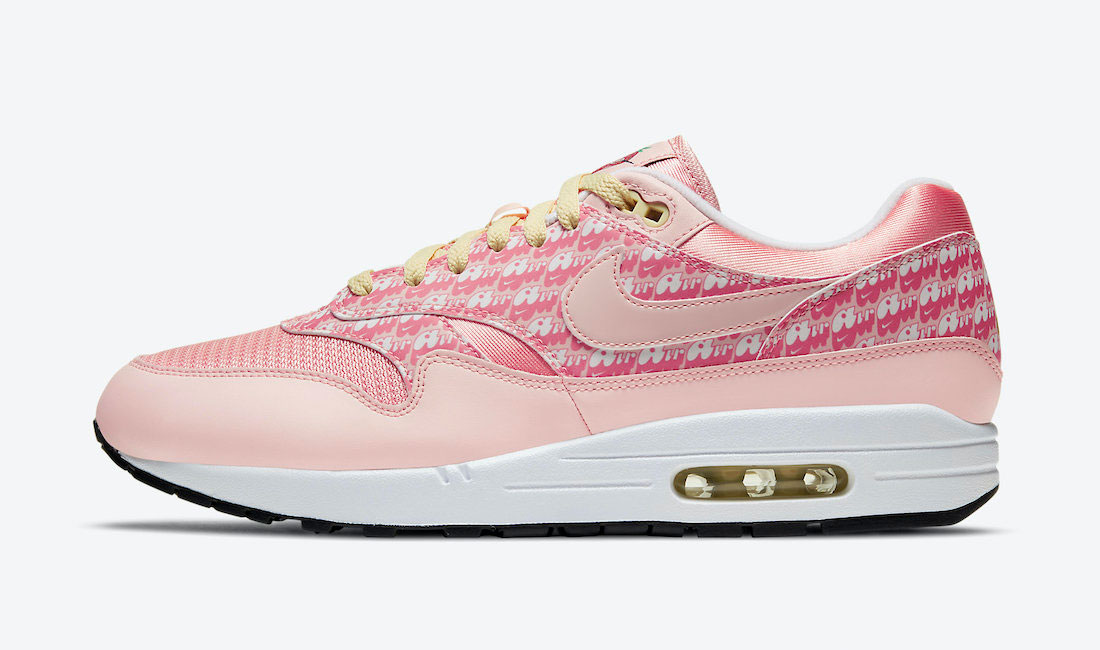 nike-air-max-1-pink-strawberry-lemonade-sneaker-clothing-match