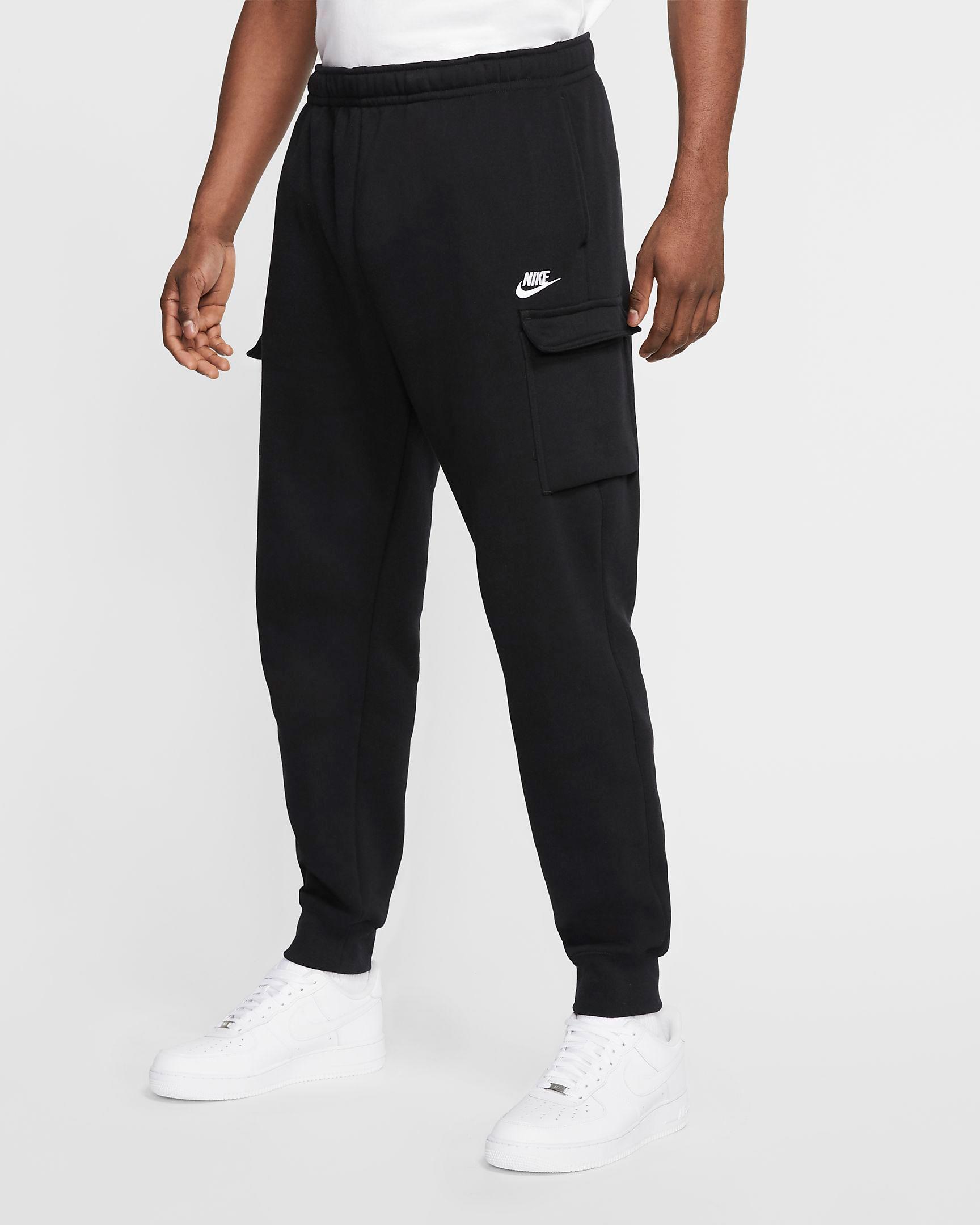 nike-club-fleece-cargo-pants-black