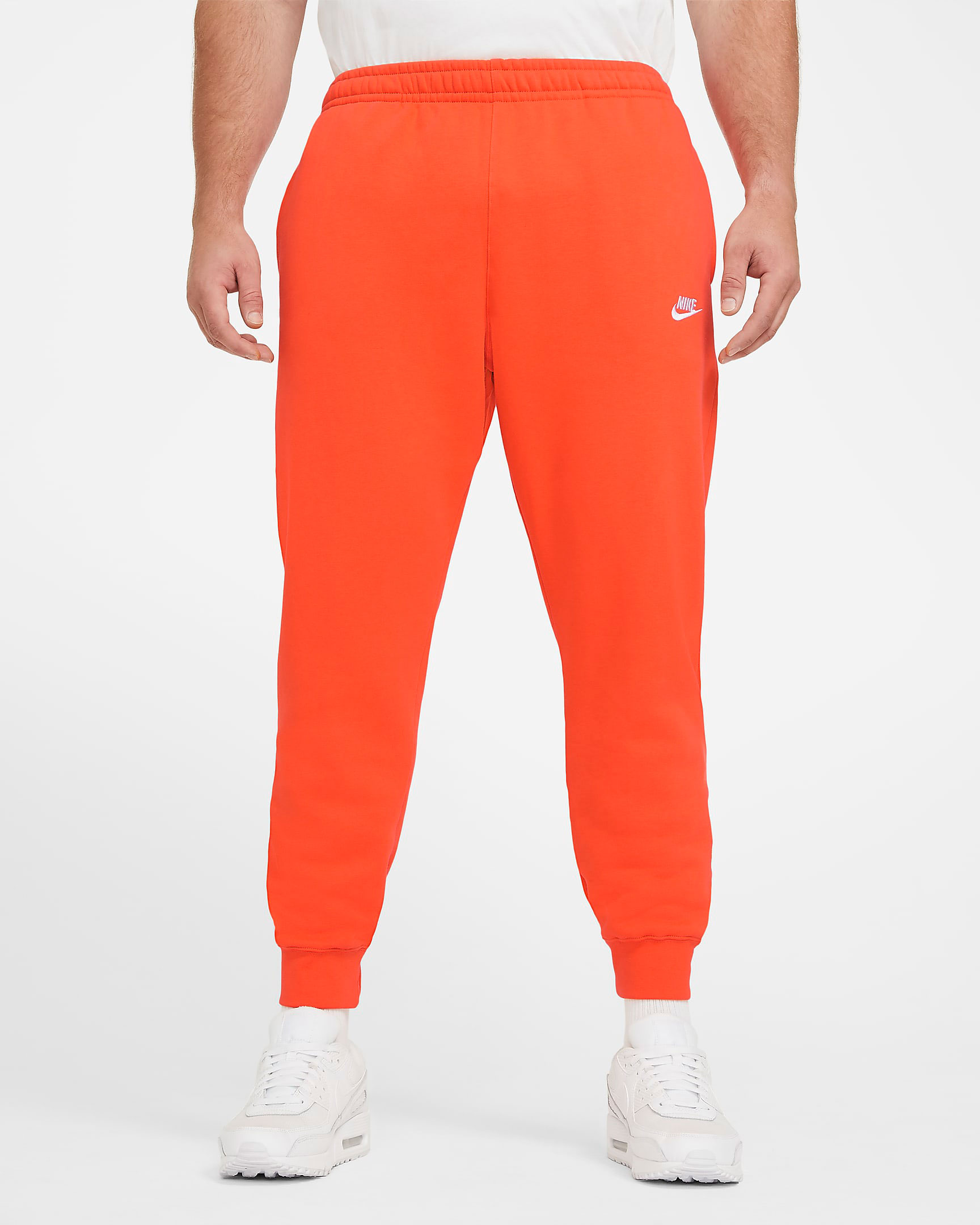nike-club-fleece-pants-orange