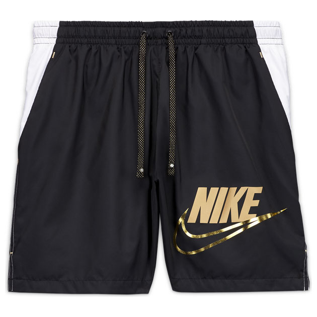 nike-metallic-woven-flow-shorts-black-white-gold-1