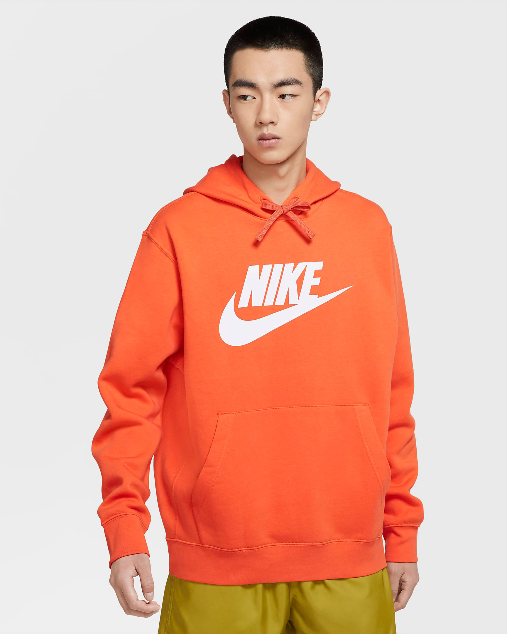 nike-sportswear-club-fleece-orange-graphic-hoodie