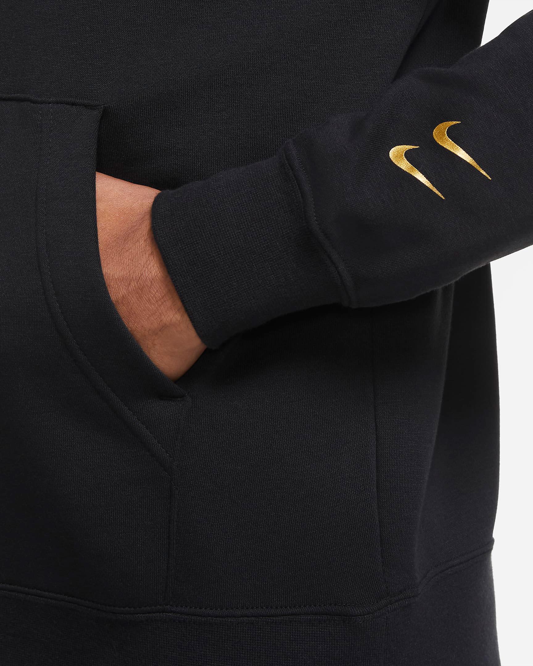 nike-sportswear-swoosh-hoodie-black-metallic-gold-4