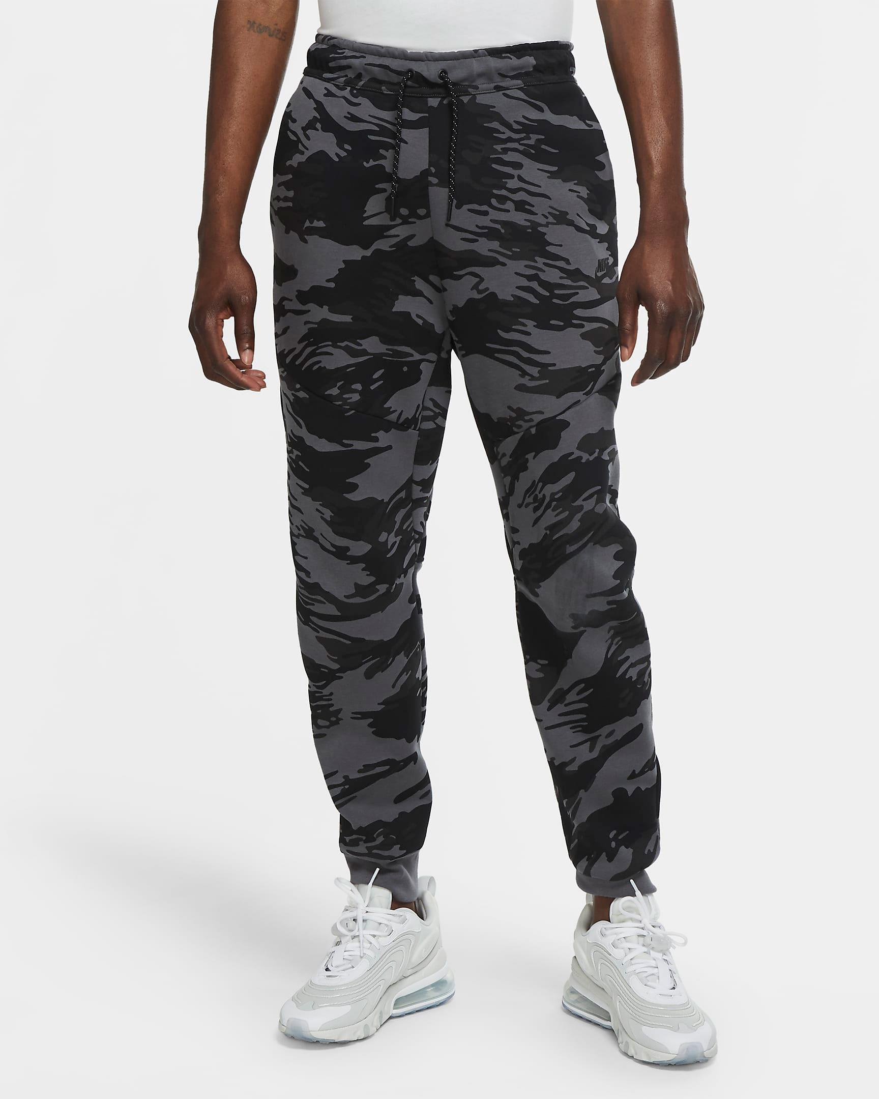 nike-tech-fleece-camo-black-grey-jogger-pants