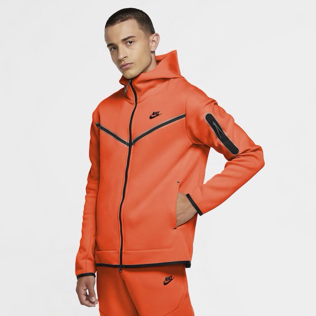 nike-tech-fleece-hoodie-orange