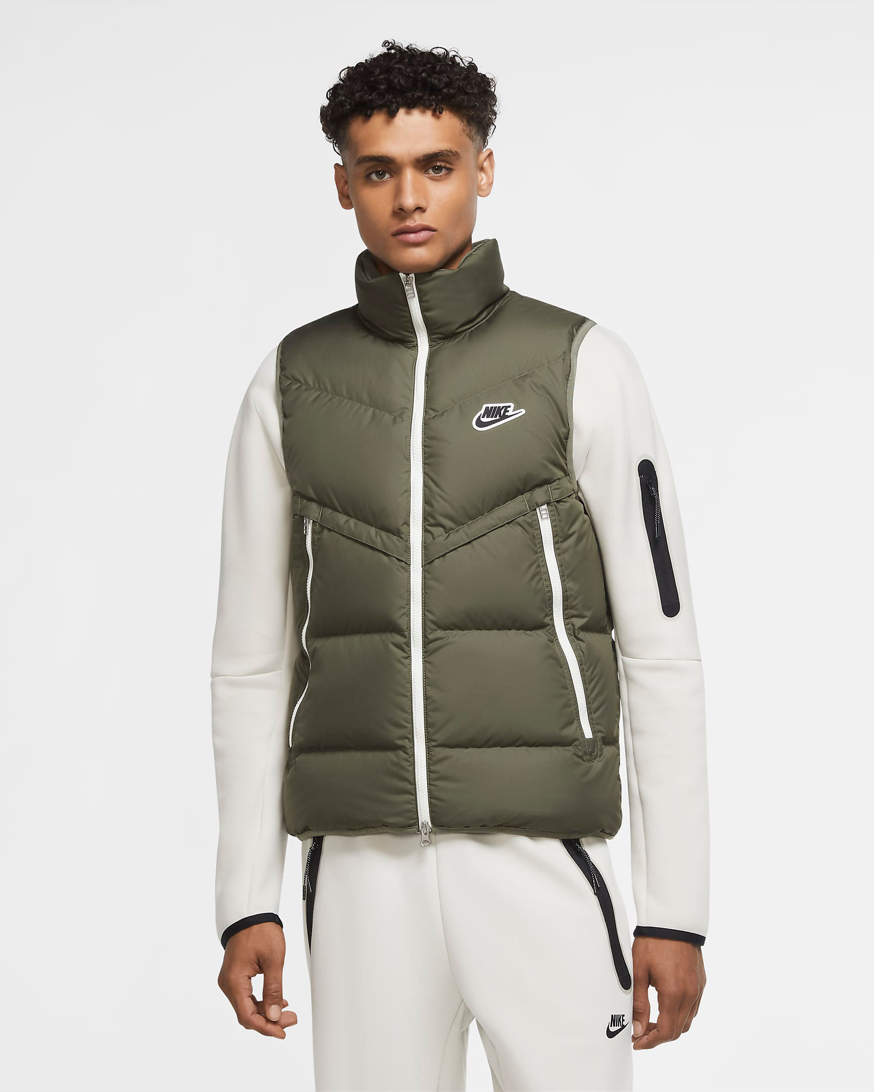 nike-windrunner-down-fill-vest-twilight-marsh-olive-green