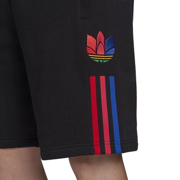adidas-originals-3d-trefoil-black-multi-color-shorts