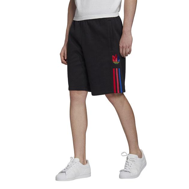 adidas-originals-3d-trefoil-black-shorts