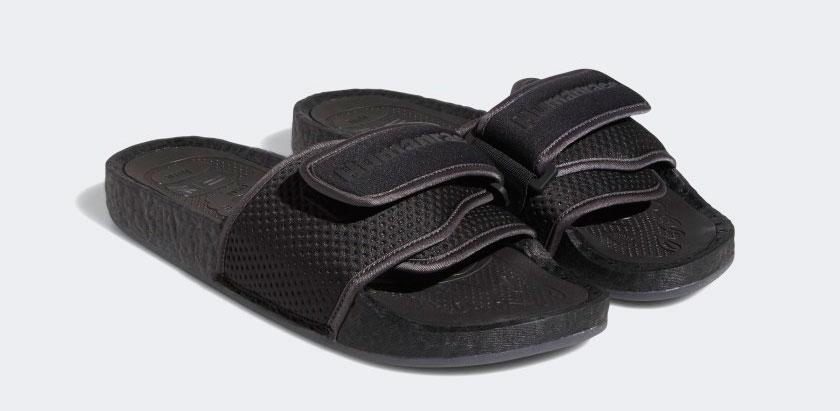 adidas-pharrell-triple-black-chancletas-hu-slides