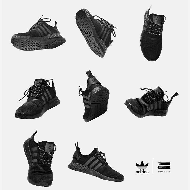 adidas-pharrell-triple-black-nmd-sneakers