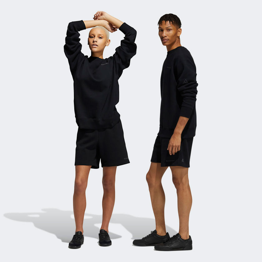 adidas-pharrell-triple-black-shorts