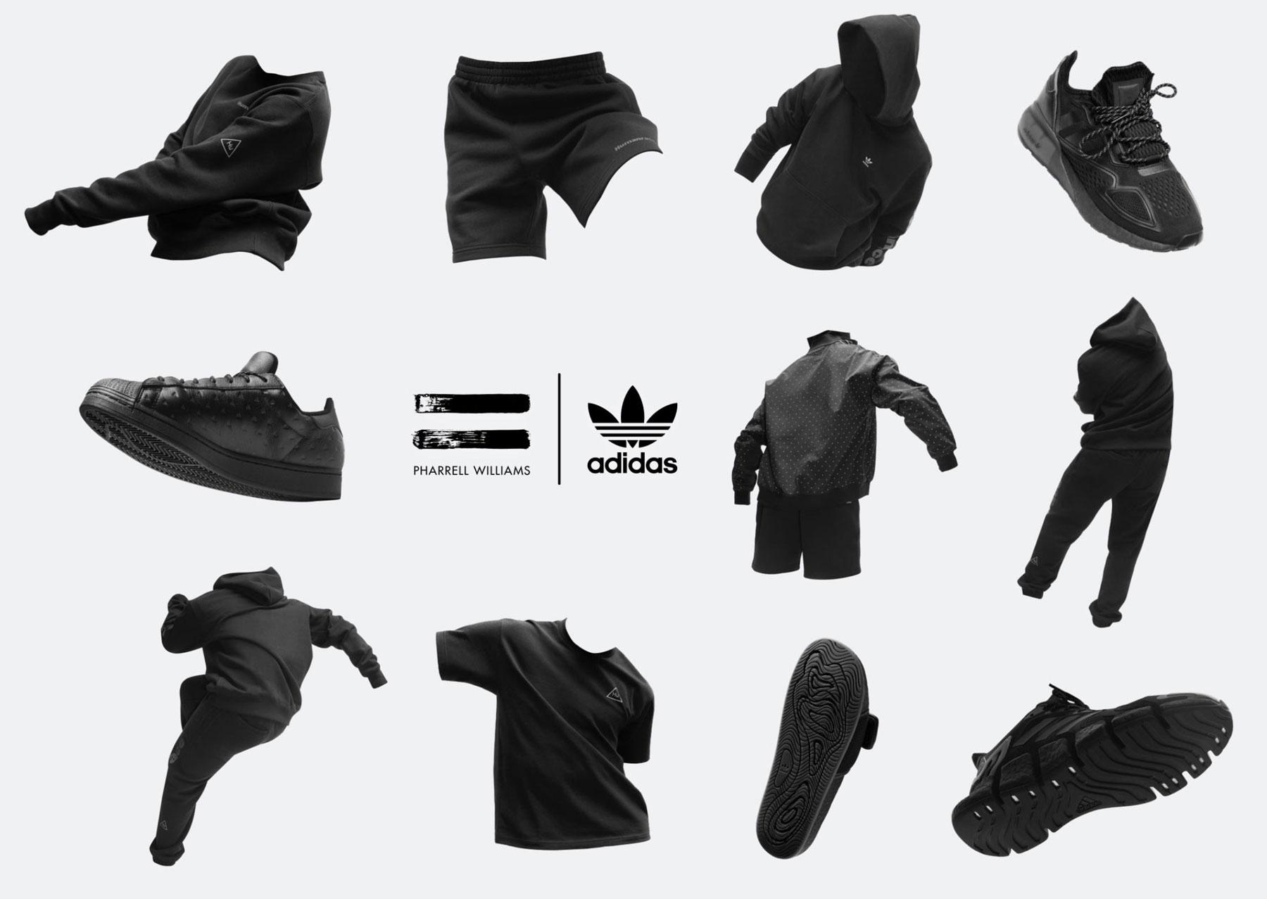 adidas-pharrell-triple-black-sneakers-clothing