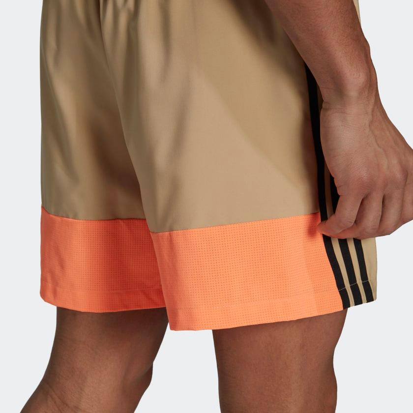 adidas-woven-3-stripes-shorts-beige-3