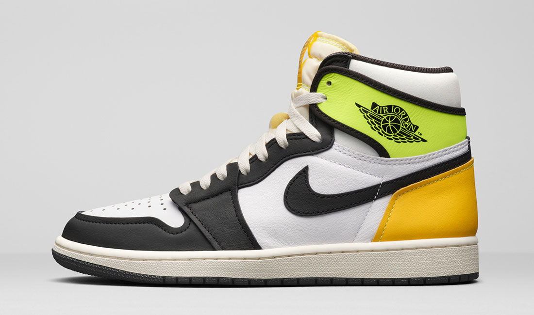 air-jordan-1-high-volt-gold-sneaker-clothing-match