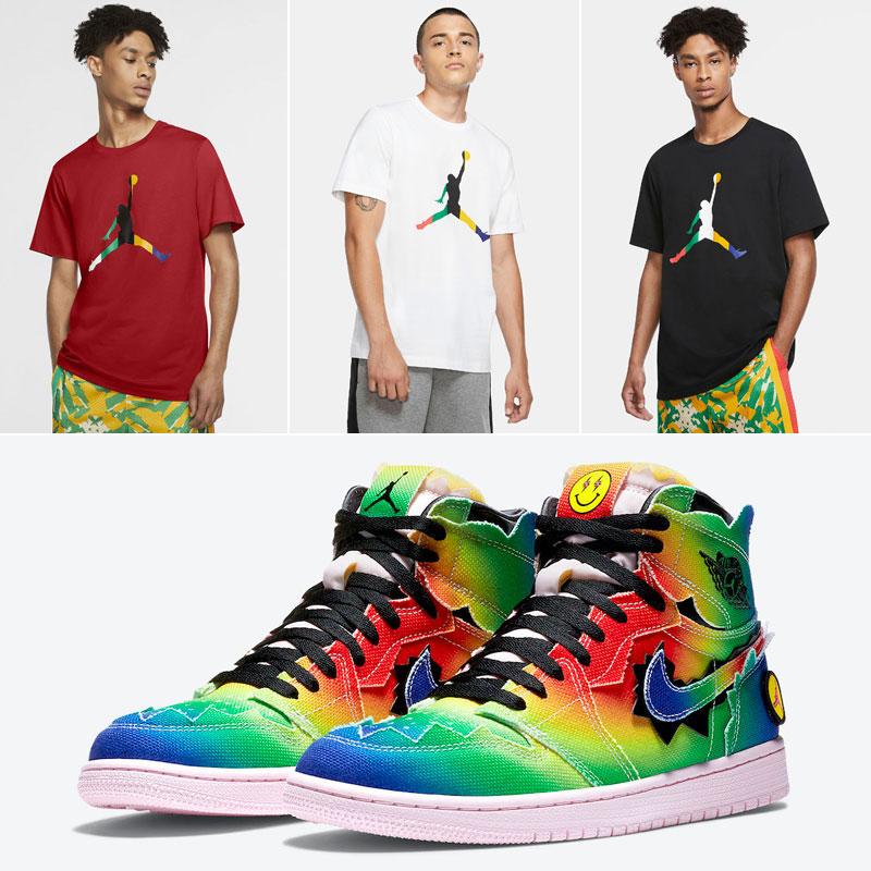 air-jordan-1-j-balvin-matching-shirts
