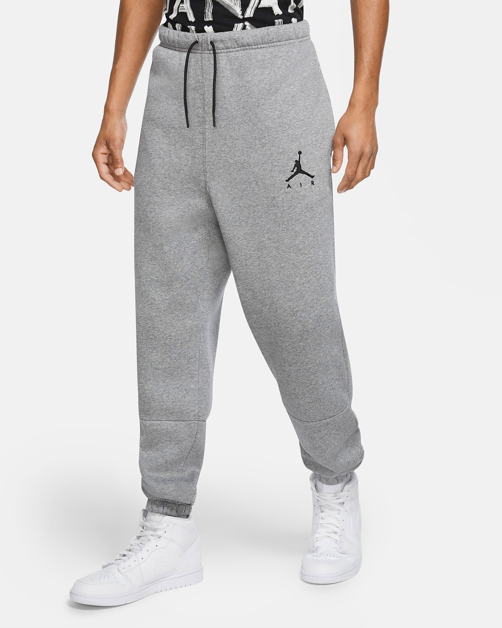air-jordan-11-jubilee-grey-jogger-pants-match